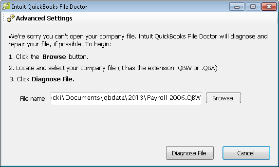 Quickbooks Error 6000 77 QBFD