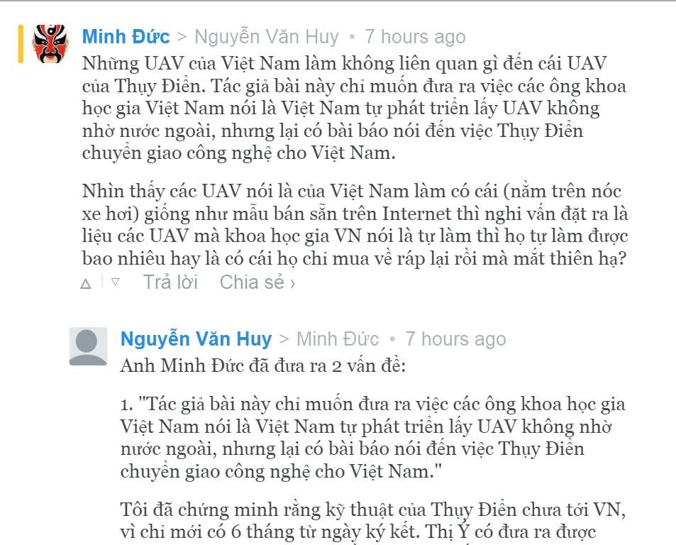 Trang báo có cuộc tranh luận của Nguyễn Văn Huy.jpg