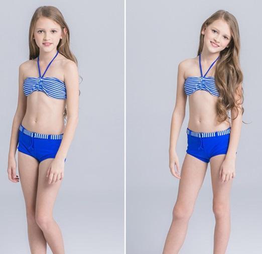 stroje kąpielowe dla dziewczynek 13