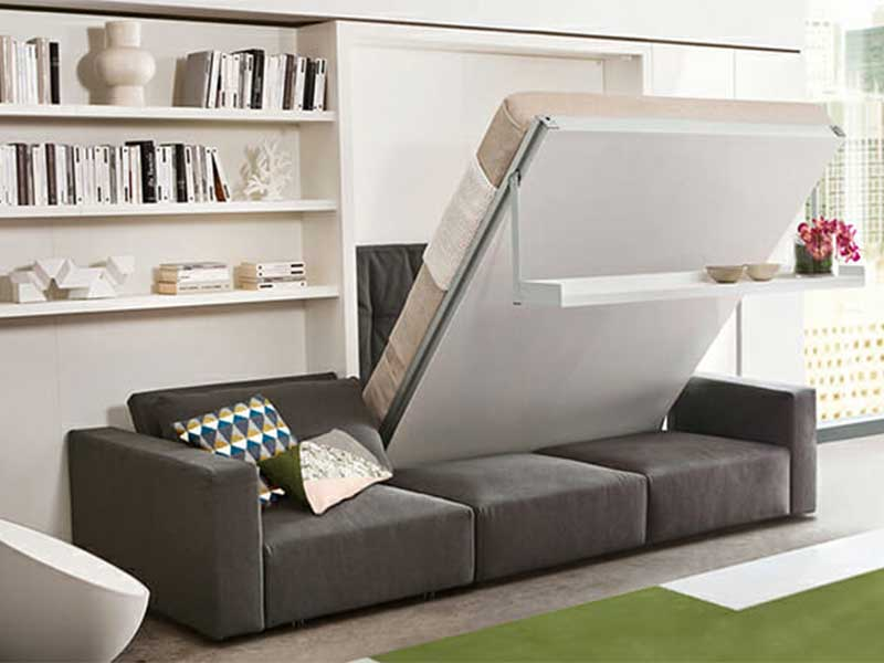 Giường sofa thông minh giúp không gian hiện đại hơn