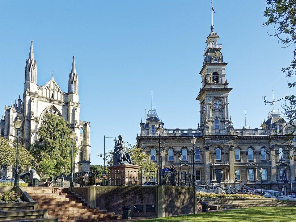 New Zealand, Dunedin, St Paul'S Cathedral, Cathedral