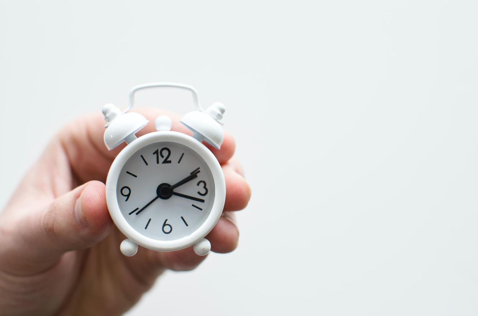 A gestão de tempo é essencial para ter uma vida tranquila