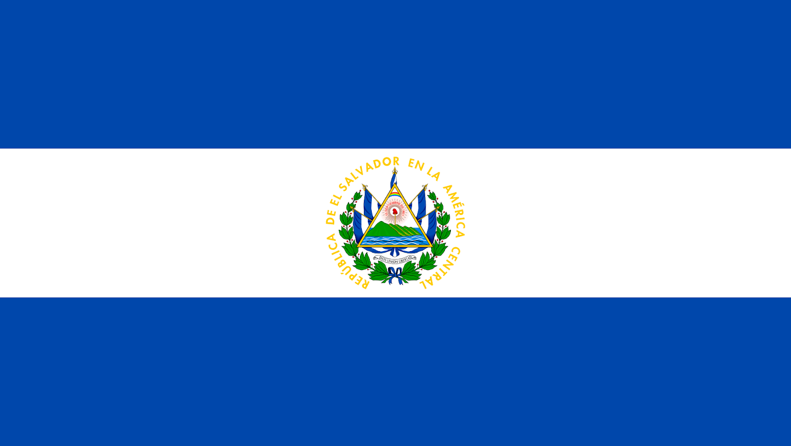 Image result for Salvadorian flag