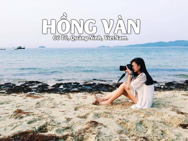 Hồng Vàn: Bãi biển đẹp nhất ở Cô Tô