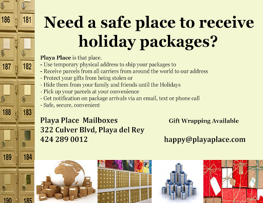 Playa Place - Mailbox Rental Service in Playa del Rey, Virtual