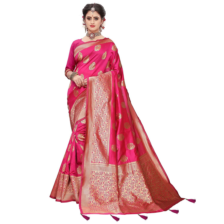 Kanjivaram Silk Blend Floral