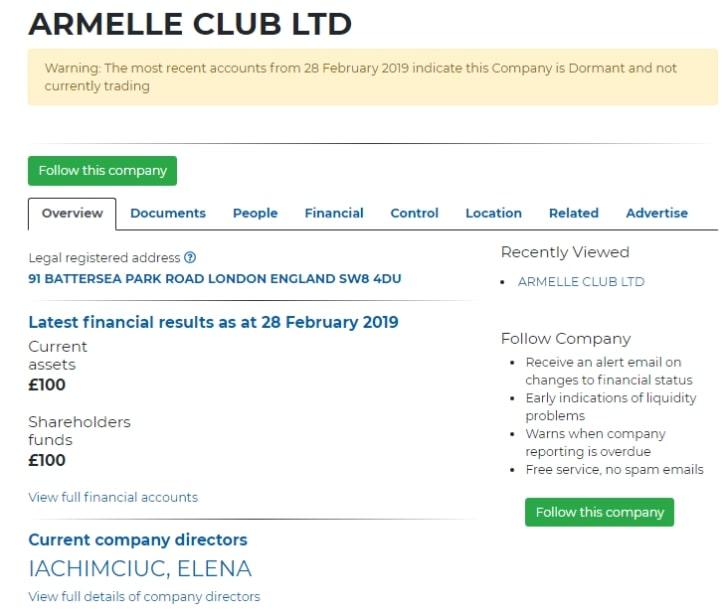 Armelle Club: отзывы о торговле с брокером, условия сотрудничества