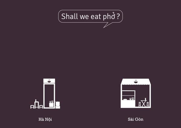 Thú vị bộ ảnh so sánh vui sự khác nhau giữa Hà Nội và Sài Gòn 6