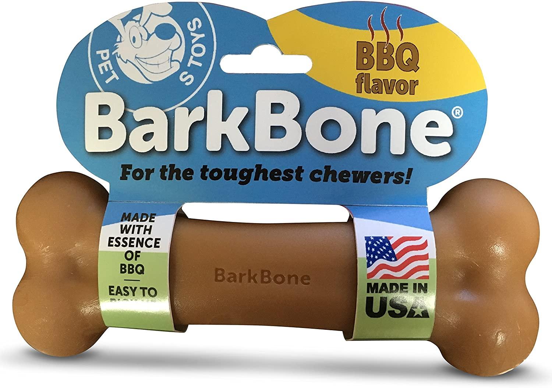 best dog toys for power chewers barkbone bbq bone