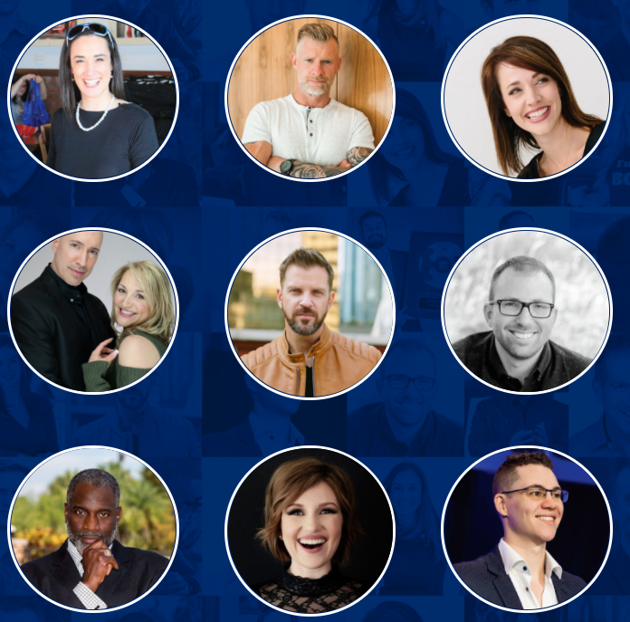 Pictures of some participants of the Clickfunnels 30-Day Summit