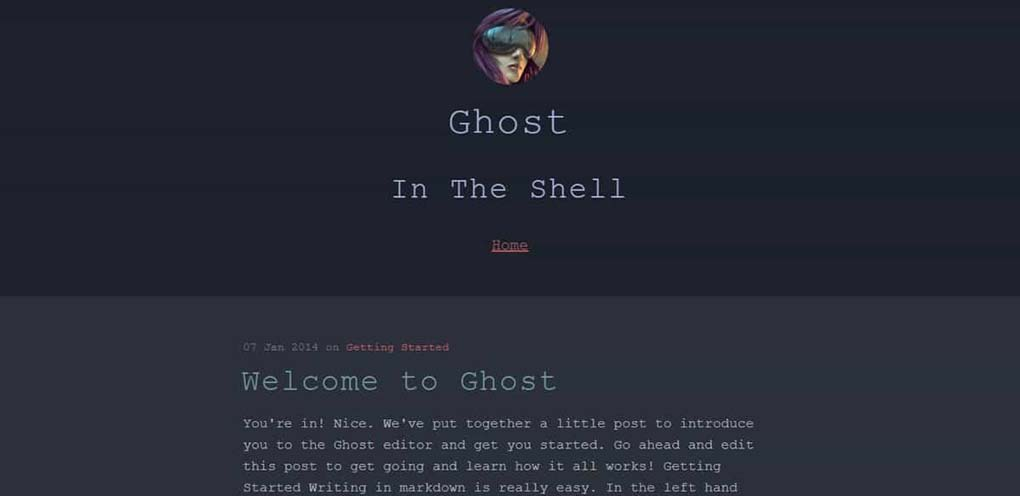 tema para ghost, in the shell