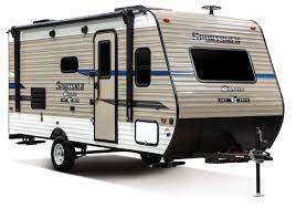 Travel Trailers with Bunkhouses: KZ Sportsmen