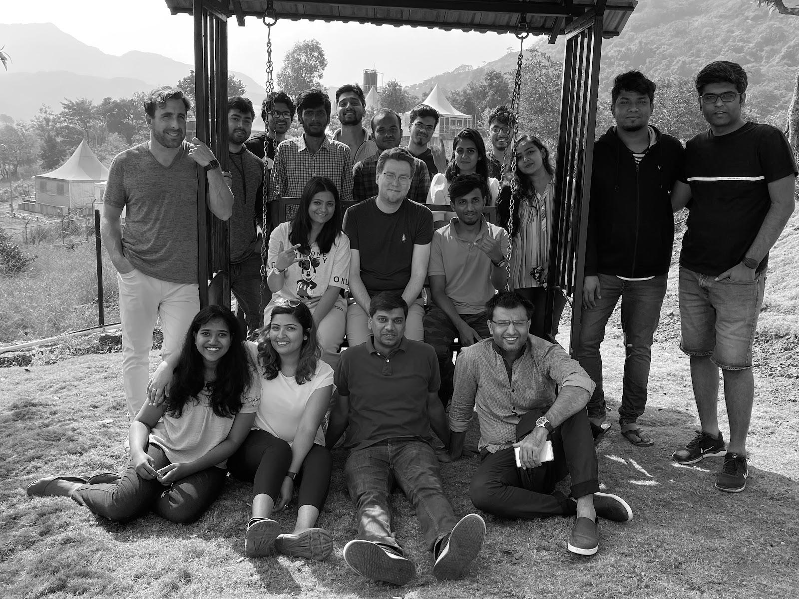 Symbl.ai team photo