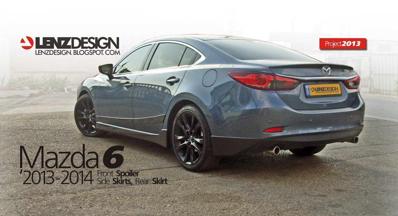 mazda 6 2013 2014 2015 tuning lenzdesign performance body kit. Black Bedroom Furniture Sets. Home Design Ideas
