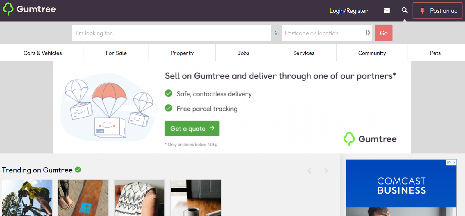 free advertising sites - Gumtree