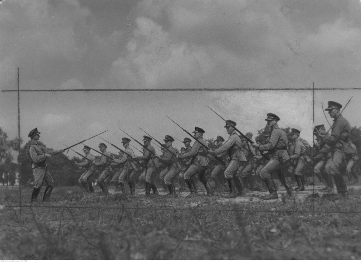 Вправи з багнетами. Прикордонники. 1934 р.jpg