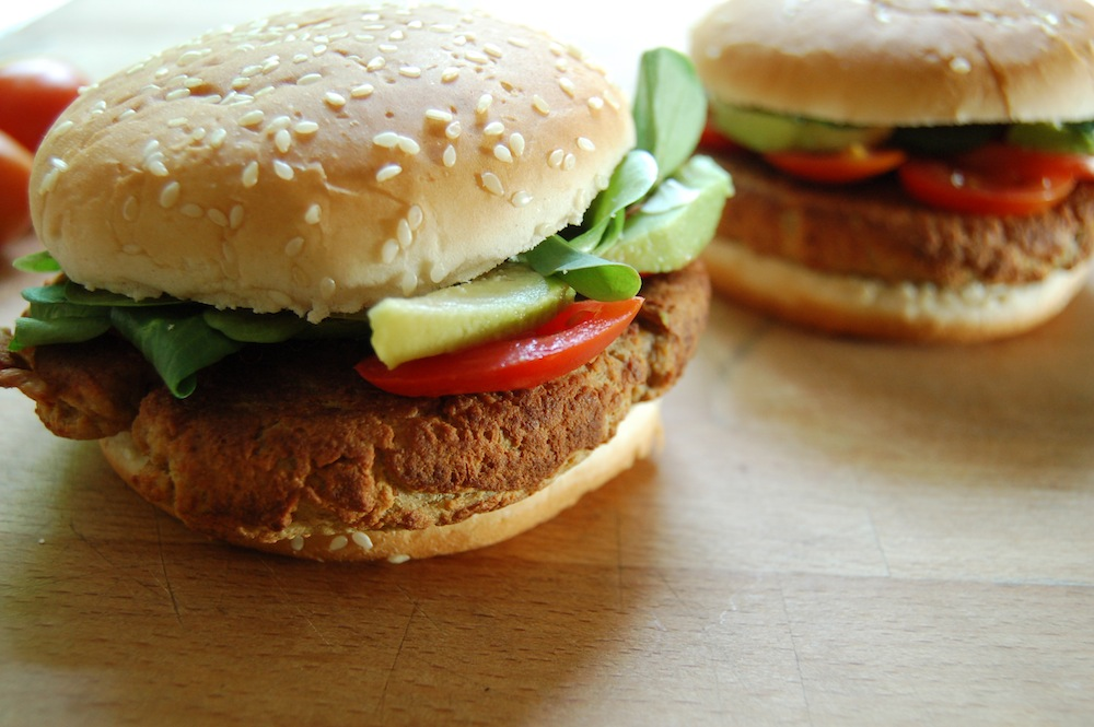 The Iron You: The Best Tofu Burger