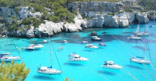 One of the Balearic Islands