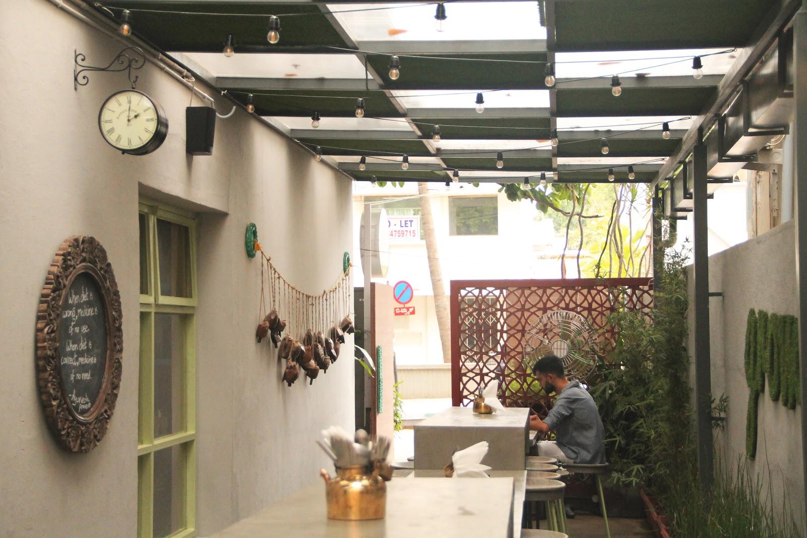 restaurant review justbe new vegan restaurant in bangalore