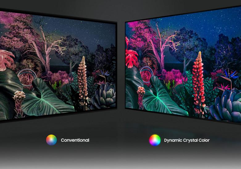 Smart Tivi Samsung 4K UHD 43 inch UA43AU9000KXXV   Công nghệ màn hình hiện đại