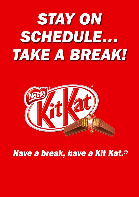 Have a break, have a kit kat