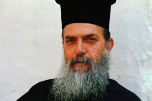 Bearded Greek Orthodox Priest