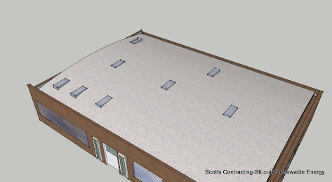 Hemp Home Second Roof Design with Natural Lighting Added