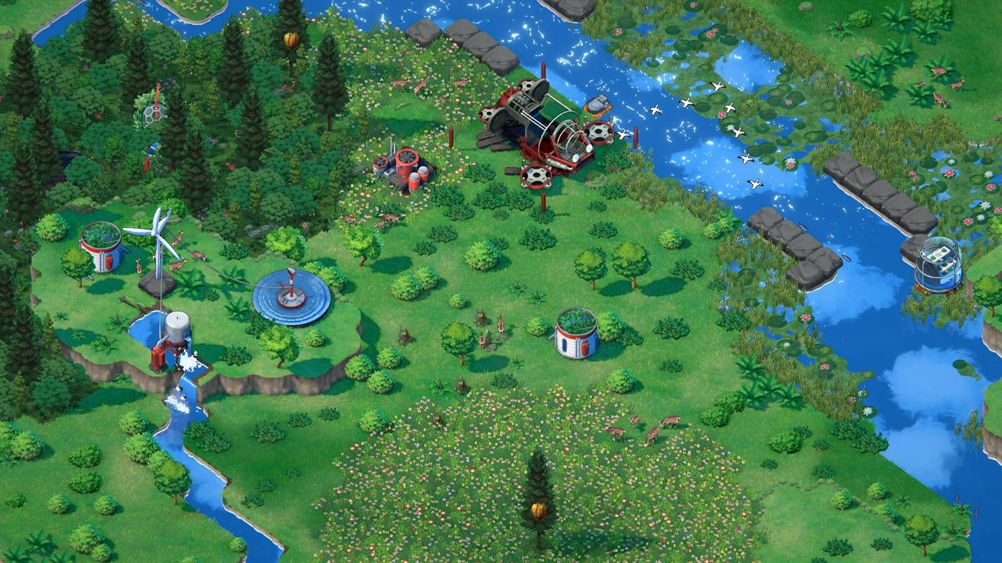 """Terra Nil is a """"reverse city builder"""" where you restore an ecosystem -  Legit Gaming - Legit Gamers Welcome"""