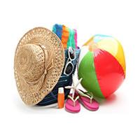 Детский чемодан для отпуска, фото