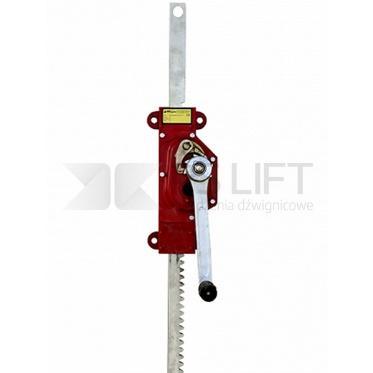 Dźwignik zębatkowy przyścienny PS-MJW
