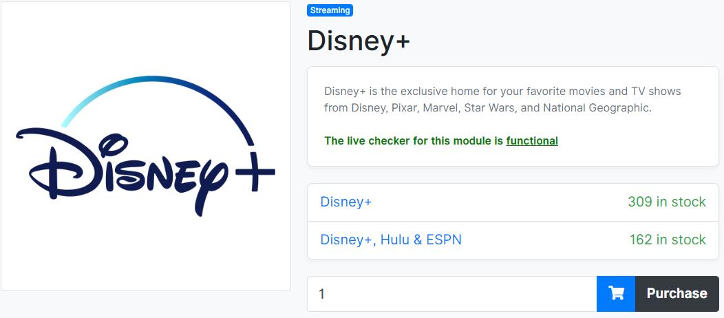 Disney Plus Plans