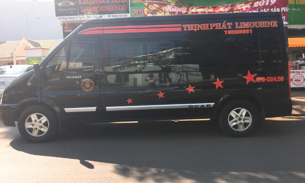 Xe limousine Nha Trang đi Buôn Ma Thuột: Thịnh Phát - Tuấn Anh