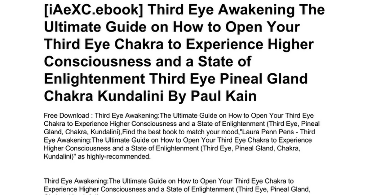third-eye-awakening-the-ultimate-guide-on-how-to-open-your-third-eye
