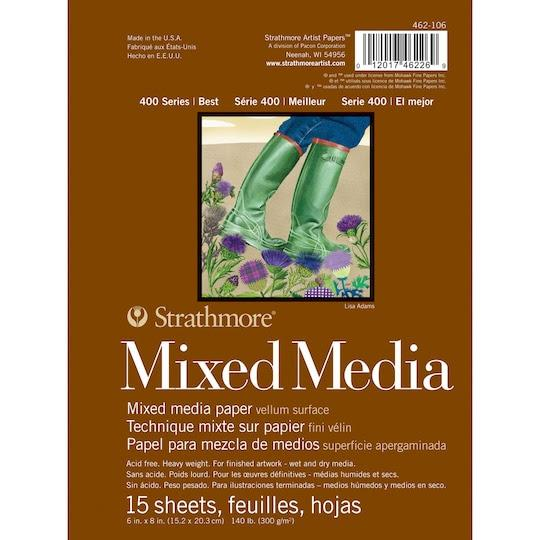 Strathmore® 400 Series Mixed Media Pad | Michaels