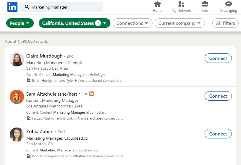 Audiense blog - LinkedIn targeting by job title