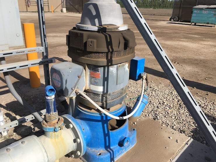 Example of an electric well pump