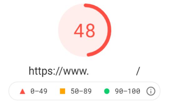 Google PageSpeed Insights: Puntuación de optimización