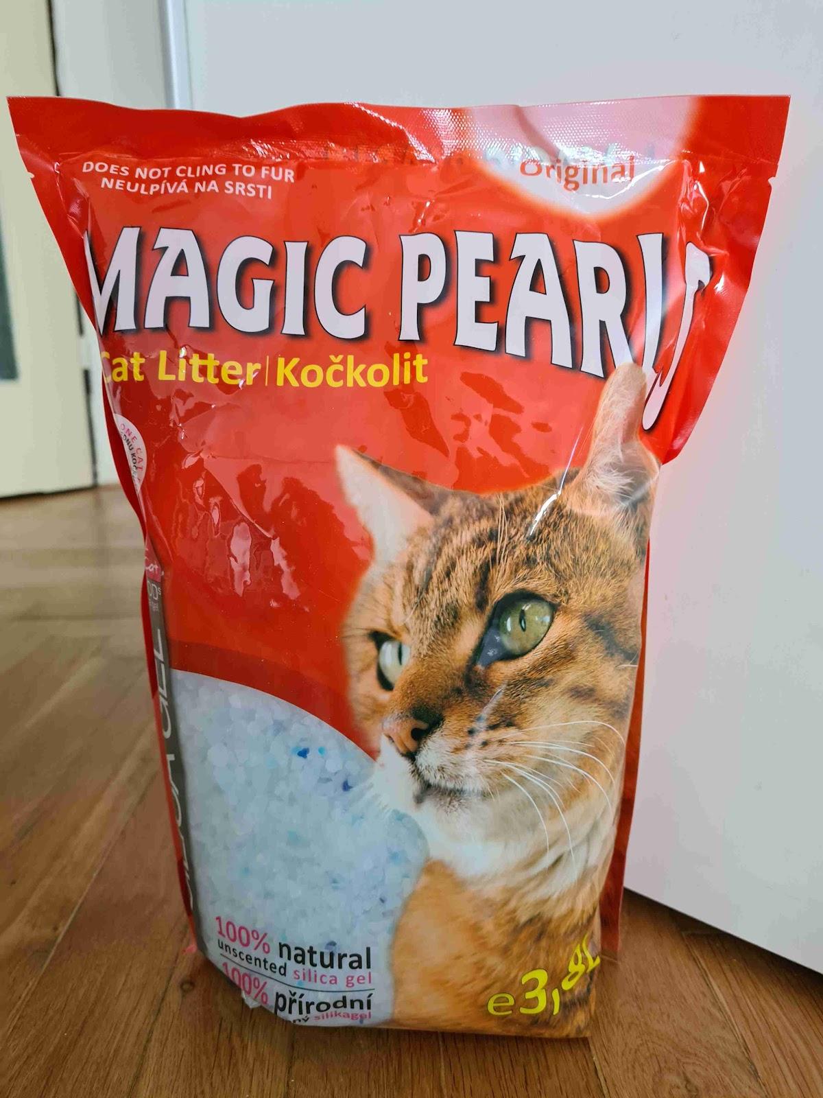 Recenze Superzoo.cz: Kočkolit Magic Pearls Original