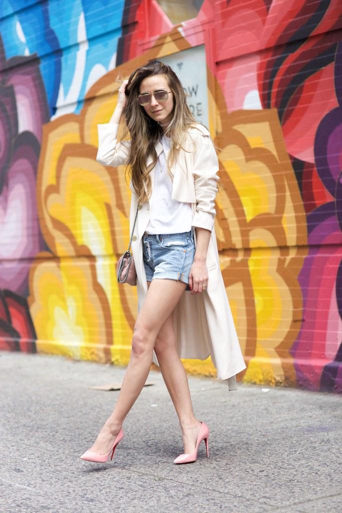 5 maneiras novas de usar shorts jeans 09