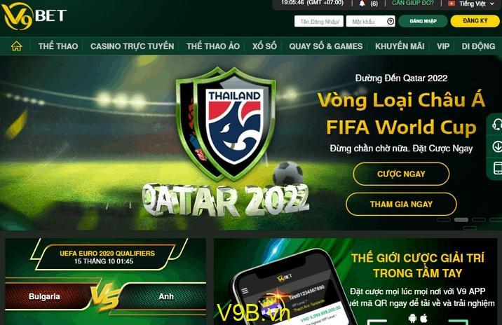 Tham gia cá cược bóng đá trên trang V9BET như thế nào?