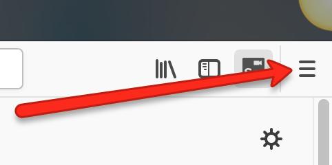 New Firefox Options Menu
