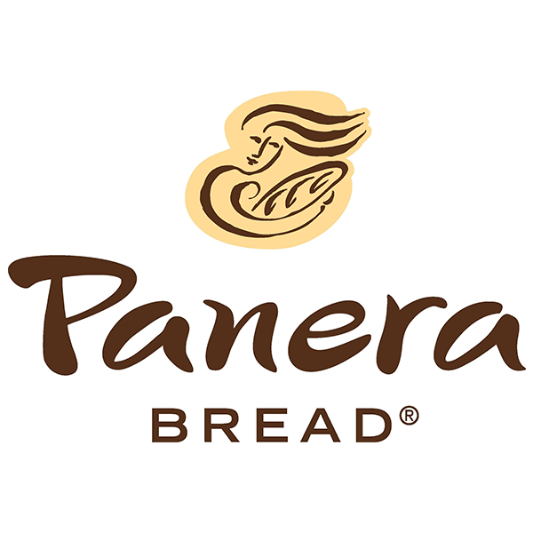 fast-food-logo-of-panera-bread-features-text-and-drawing-of-a-woman-holding-a-bread