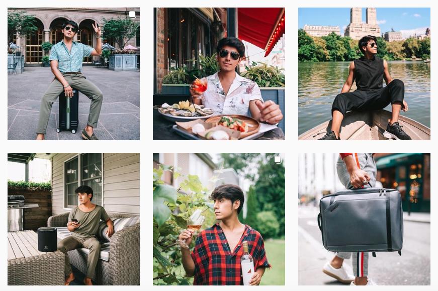 Lifestyle Instagrammer Instagram profile