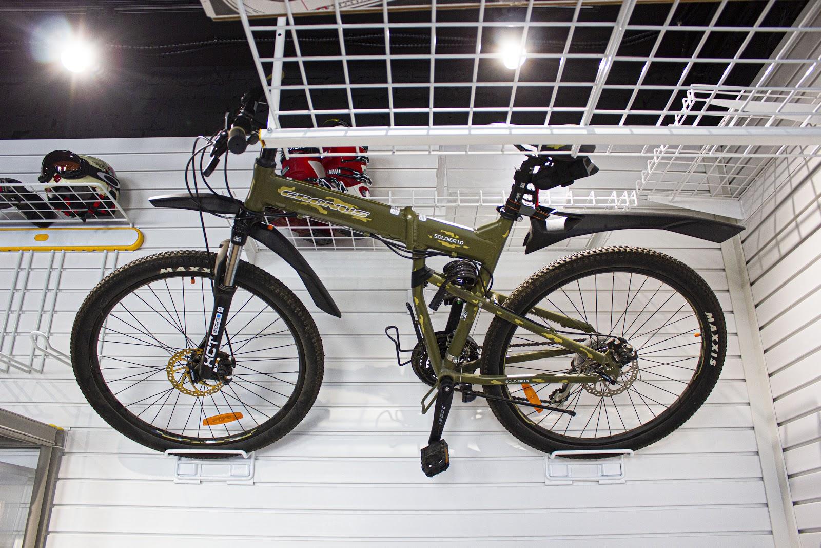 крюк для велосипеда на стену