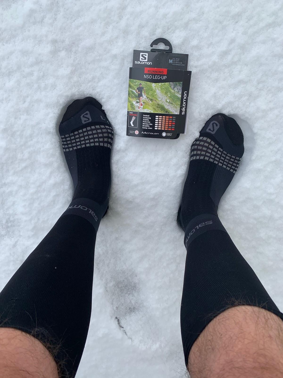 SALOMON Socks Nso Leg-up Shell Jacket
