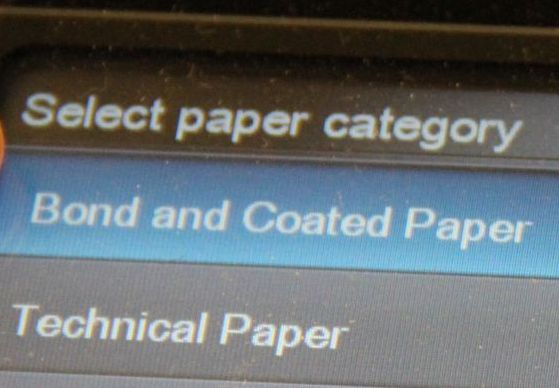 Changing Plotter Paper For Hp Designjet T790 Plotter