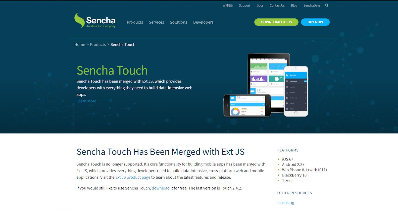 Sencha Touch HTML5 Mobile App Development