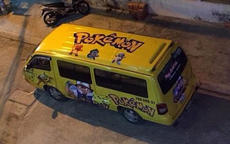 Xe trung chuyển Pokemon