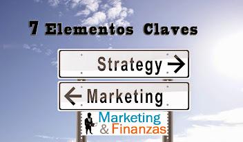 7 Elementos de la Gerencia Estratégica de Mercadeo