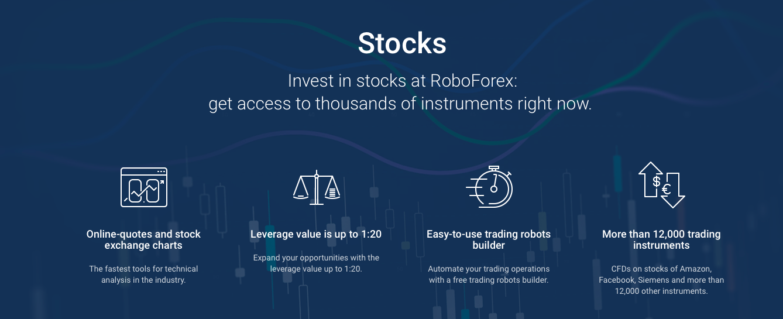 roboforex Stocks